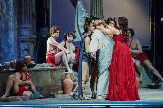 Христос в гроте Венеры. Сцена из оперы «Тангейзер». Постановщик: Т.Кулябин