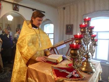 Престольный праздник во временном храме 14 ноября 2014