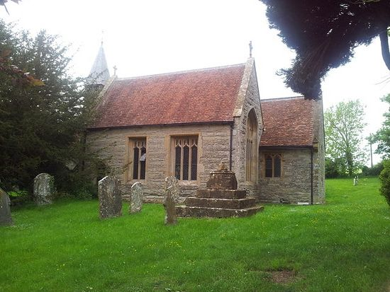 12th-century Church of St. Milburgh in Wixford, Warwickshire