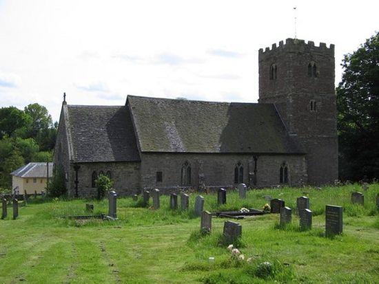 Church of St. Milburgh in Stoke St Milborough, Shropshire