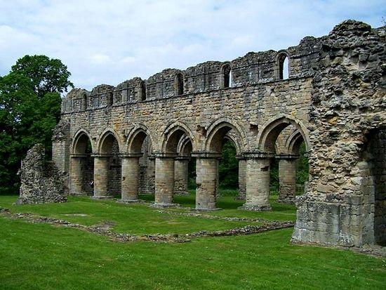 Much Wenlock Priory ruins, Shropshire