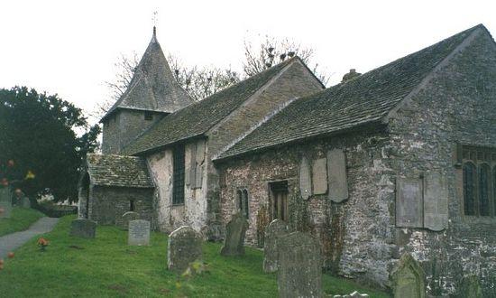 St. Billo's Church in Llanfillo, Powis