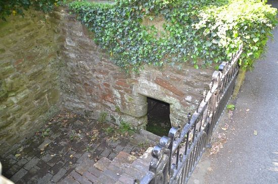 St. Milburgh's Holy Well in Much Wenlock, Shropshire