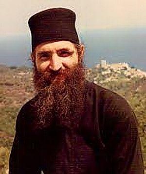 Monk George on Mt. Athos.