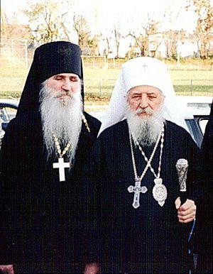 О. Георгий с митр. Лавром
