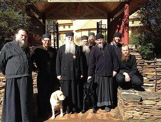 Вл. Георгий в Преображенском монастыре в Бомбале (Австралия)