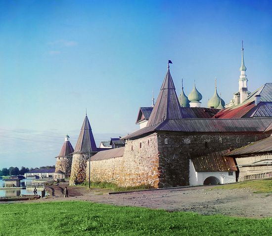 Solovetsky Islands in 1915 by Prokudin-Gorsky