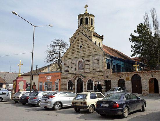 Зрењанински храм Светог архангела Михаила. Фото: jером. Игнатиjе Шестаков