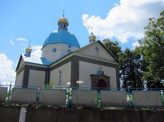 Церковь Рождества Пресвятой Богородицы в селе Стенка