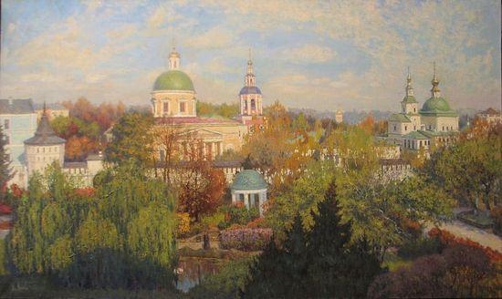 Владимир Николаевич Киреев. Свято-Данилов монастырь