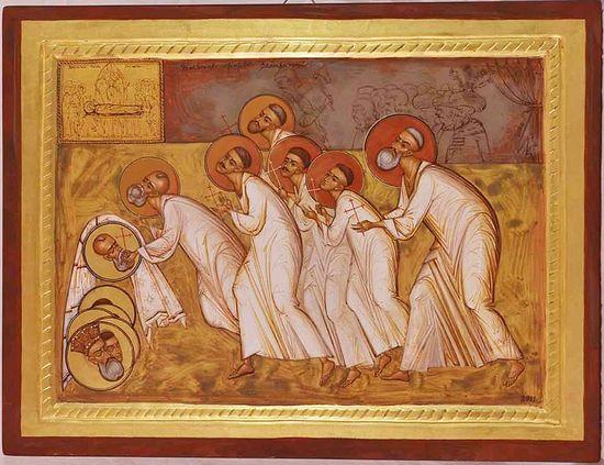 Elena Murariu, Holy Brancovan (Brâncoveanu) Martyrs