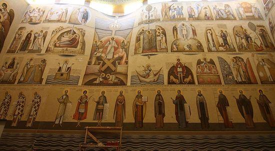 Ioan Popa, Southern Wall, The Church of Alba Iulia