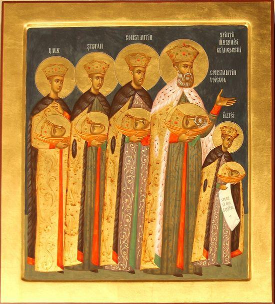 Bogdan Verdes, Saint Martyrs Brвncoveanu