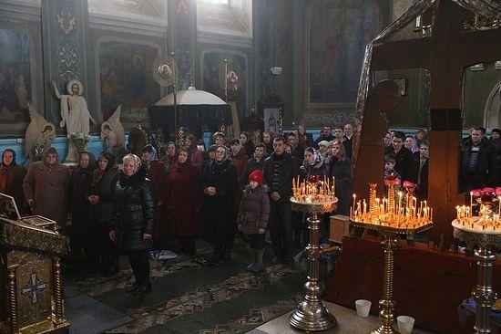 В Свято-Екатерининском храме
