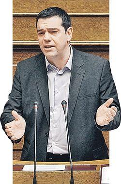 Лидер «Сиризы» Алексис Ципрас обещал возродить достоинство Греции. Но, став премьером, о многих посулах забыл. Фото: GLOBAL LOOK PRESS