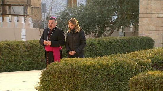 Archbishop Bashar Warda and Lara Logan