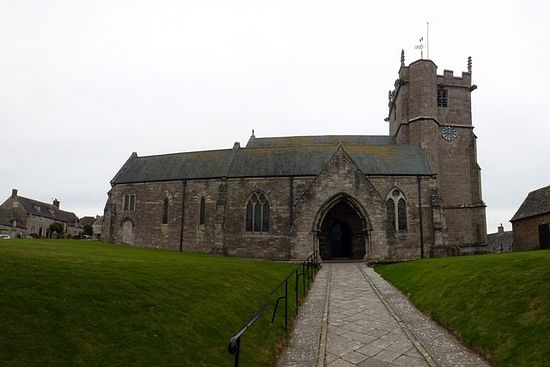 Church of St. Edward in Corfe Castle, Dorset