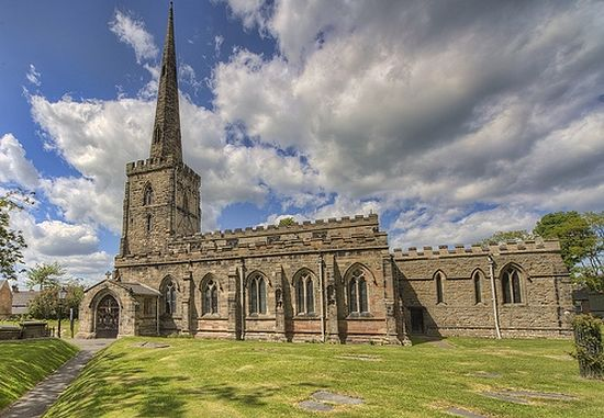St. Edward's Church in Castle Donington, Leicestershire