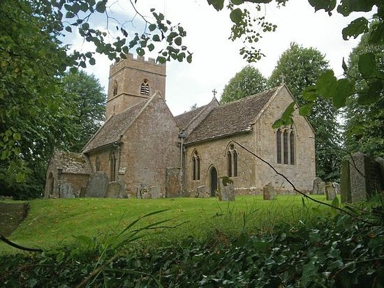 St. Edward's Church in Evenlode, Gloucestershire