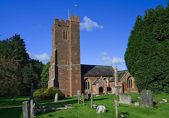 St. Edward's Church in Goathurst, Somerset