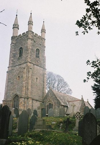 St. Edward's Church in Plymouth, Devon