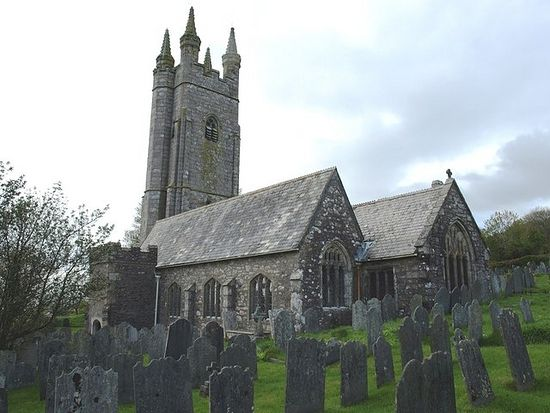 St. Edward's Church in Shaugh Prior, Devon