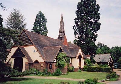 St. Edward's Orthodox Church in Brookwood, Surrey