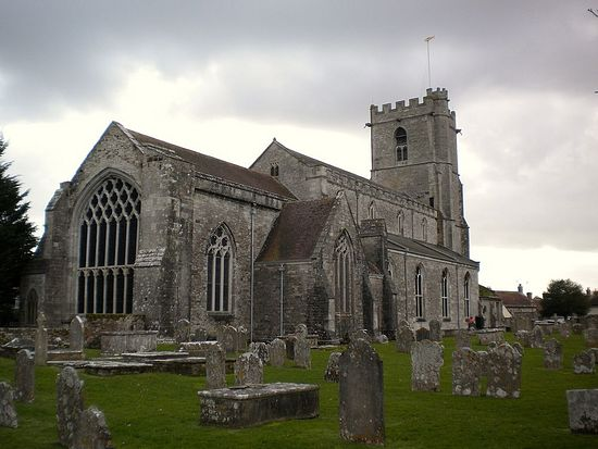 St. Mary's Saxon Church in Wareham, Dorset
