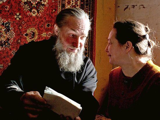 Отец Алексий Новоселов с матушкой Натальей
