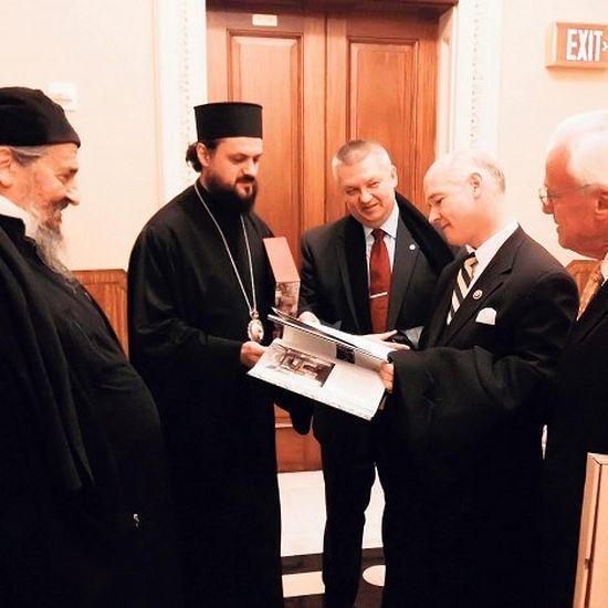 Са промоције у Конгресној библиотеци, фото Дрина Рајић