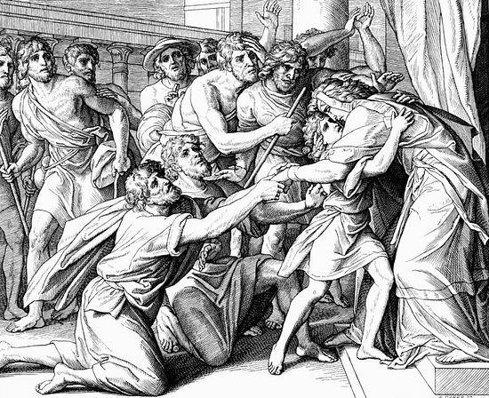 «Он сказал: я - Иосиф, брат ваш, которого вы продали в Египет… И пал он на шею Вениамину, брату своему, и плакал; и Вениамин плакал на шее его. И целовал всех братьев своих и плакал, обнимая их». (Быт.45:4,14,15)