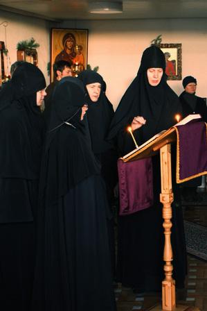 В монастырском домовом храме