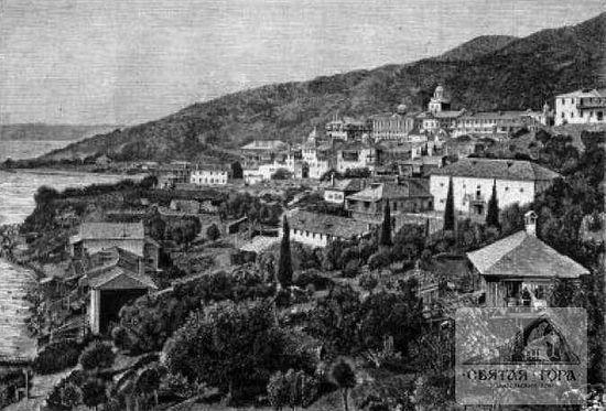 30. Вид Россиконa с восточной стороны. Фото c книжной иллюстрации (См.:3).