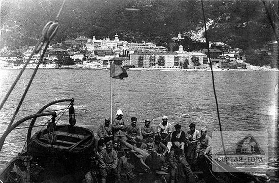 42. Россикон. Французские боевые части приближаются к пристани. 1918. Aвтор фотоснимкa неизвестен (См.: 3).
