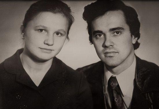 Матушка Галина и отец Федор Соколовы в молодости