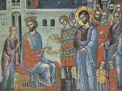 Проповедь о том, как Господь был обвиняем перед Пилатом, и о Сусанне