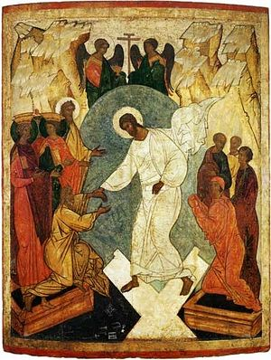 Icon of the Resurrection.