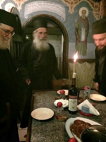 Воскресение Христово в хиландарской келии Рождества Пресвятой Богородицы Маруда