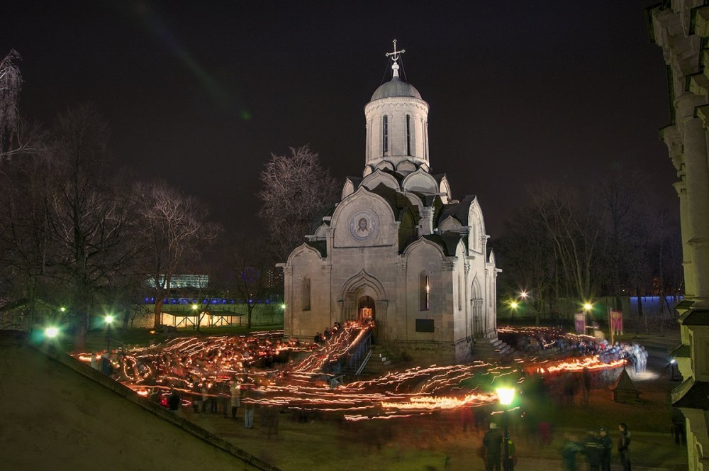 Moscow. Andronikov Monastery. The Bright Resurrection of Christ.. Photo: Galina Lapina