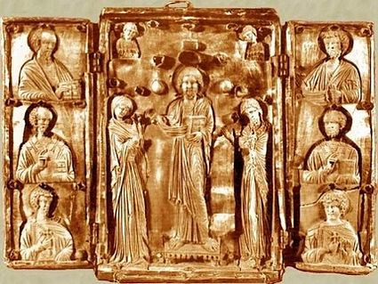 Okoni Triptych, a unique and precious 11th century icon was lost in the 90s but miraculously reappeared at Christie's in 2001.