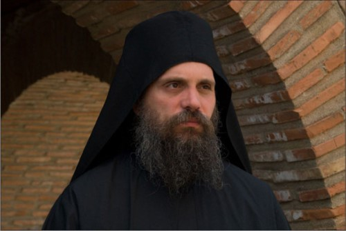 Father Iakovos, Protopsaltis of Protaton Church in Karyes, Holy Mountain