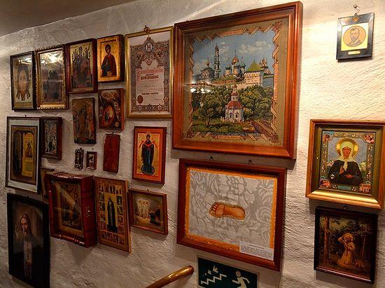 Святыни и реликвии Сергиевского прихода. Фото автора