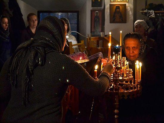 Всенощное бдение в Сергиевском приходе. Фото автора