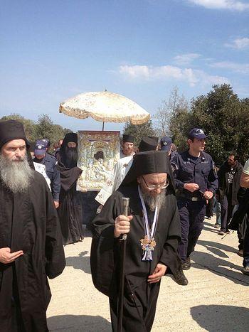 Протоэпистат Святой Горы Афон старец Симеон Дионисиатский
