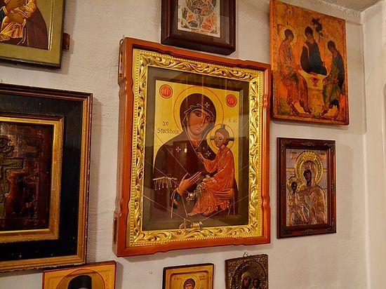 Список Стокгольмской иконы Божией Матери. Сергиевский приход. Фото автора