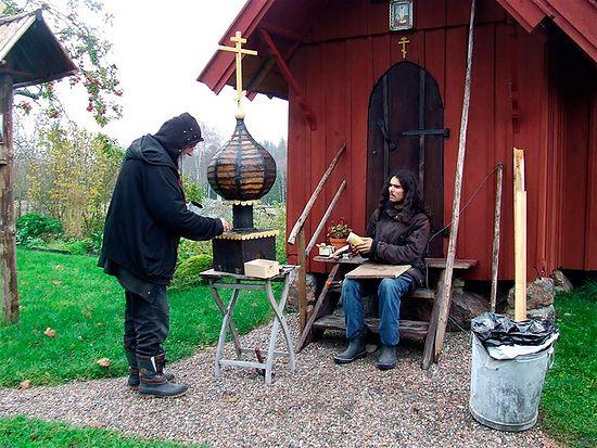Православные шведы в местечке Арбуга. Фото из архива протоиерея Виталия Бабушина