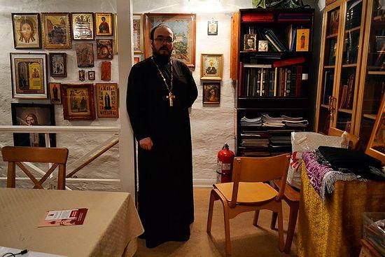 Отец Виталий Бабушин. Фото автора