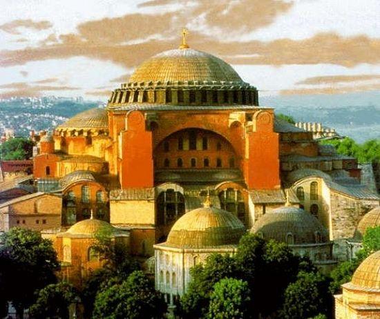 Храм Софии. Реконструкция