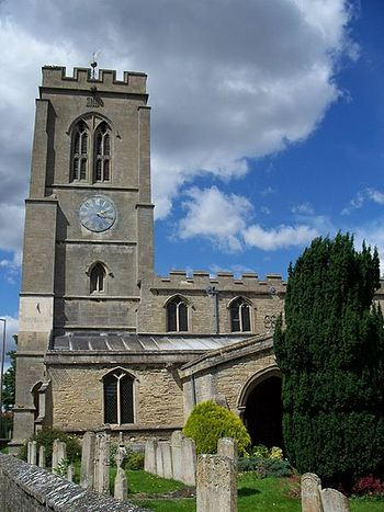 Church of St. Guthlac in Market Deeping, Lincolnshire