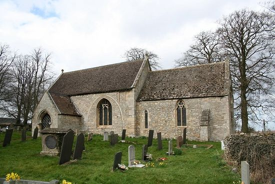 Church of St. Guthlac in Little Ponton, Lincolnshire